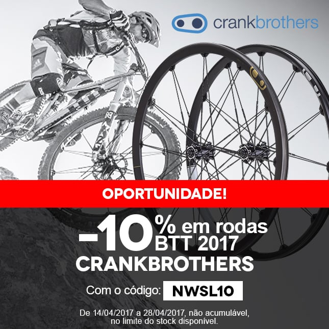 CRANKBRO -10%rouesVTT