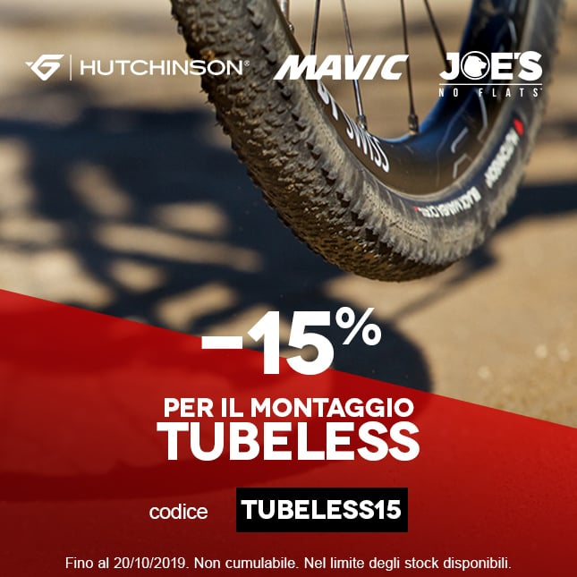 15% Tubeless