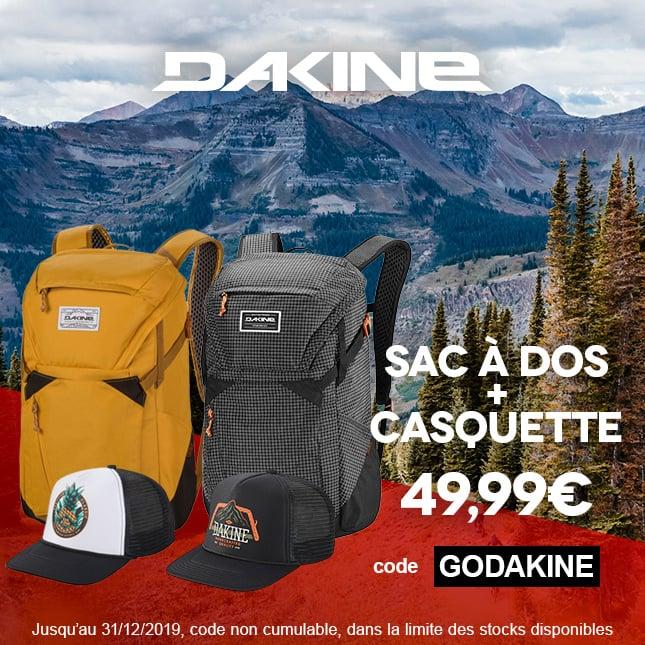 DAKINE - Sac+Casquette