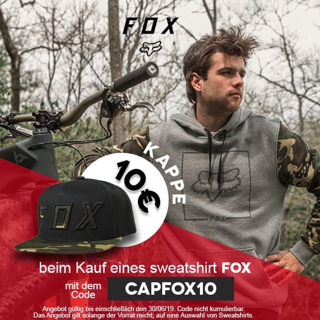 Casquette 10 FOX
