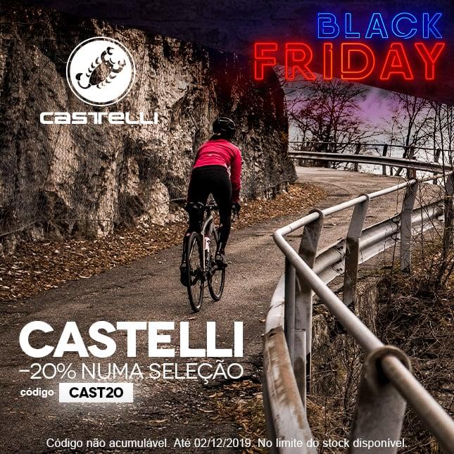 Black Friday 20% Castelli