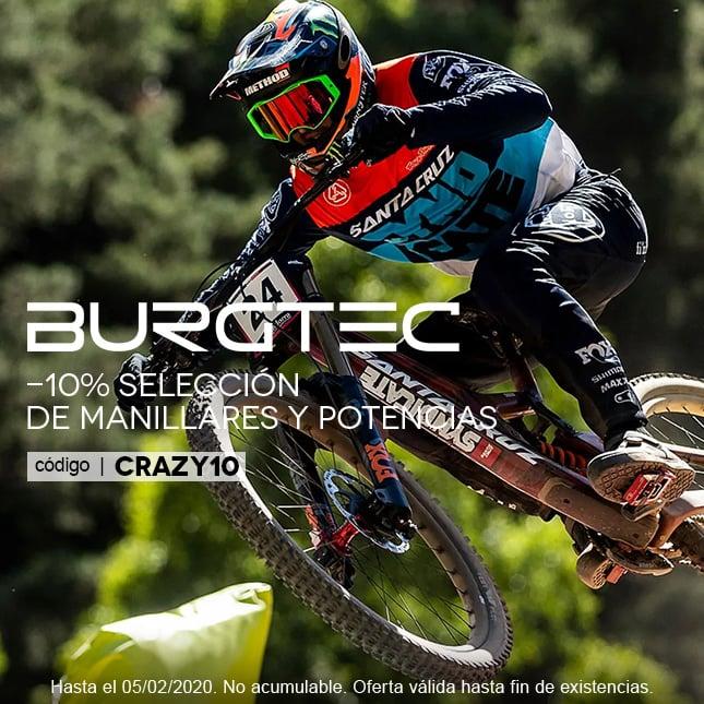 BURGTEC-10% CRAZY10