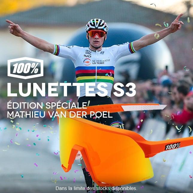 100% Lunettes S3 Ed.limit