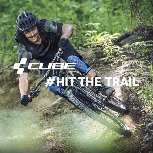 CUBE #Hit the trail