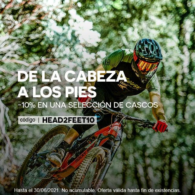HEAD2FEET - 10% casque