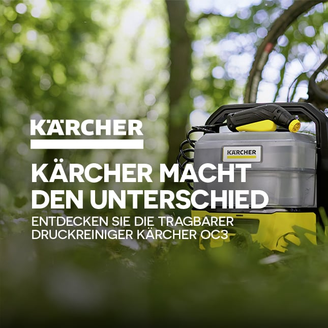 KÄRCHER Nettoyeur OC3 slide-acc mea