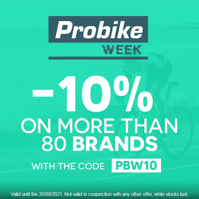 PROBIKE WEEK slide-route promo