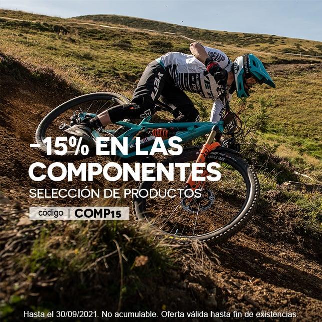 -15% Périphériques VTT/Route COMP15 slide-hp promo