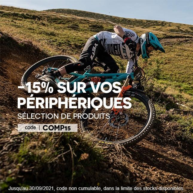 -15% Périphériques VTT/Route COMP15 slide-vtt promo