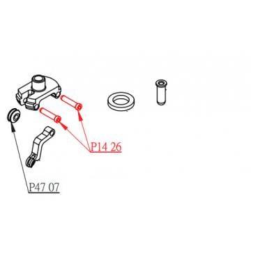 Axe de Levier Actionneur pour Tige de Selle KS KIND SHOCK I900R/I950R (x1) #P1426