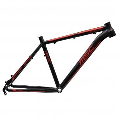 "Cuadro de Mountain Bike MSC MERCURY ALU 26"" Negro/Rojo"