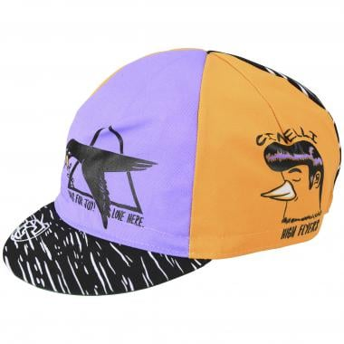 Casquette CINELLI HIGH FLYERS Orange/Violet 2020