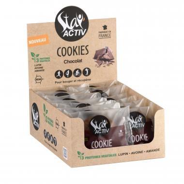 Pack de 14 Cookies Protéinés STAY'ACTIV Pépites de Chocolat Noir