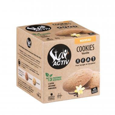 Pack de 5 Cookies Protéinés STAY'ACTIV Vanille Naturelle