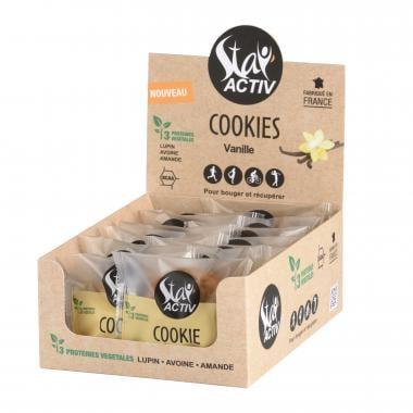 Pack de 14 Cookies Protéinés STAY'ACTIV Vanille Naturelle