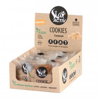Pack de 14 Cookies Protéinés STAY'ACTIV Éclats de Caramel au Beurre Salé