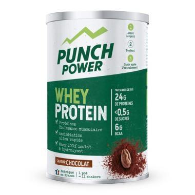 Boisson de Récupération PUNCH POWER WHEY PROTEIN Chocolat (350 g)