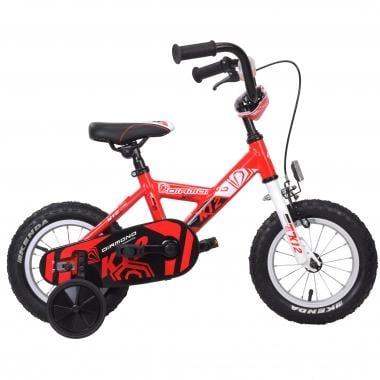 """Bicicletta Bambino DIAMOND K12 12"""" Nero/Rosso"""