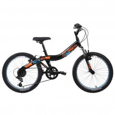 """Mountain Bike DIAMOND Y20 ALLOY 20"""" Negroi/Naranja/Azul"""