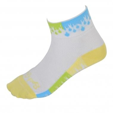 SOCK GUY WET PAINT Women's Socks White
