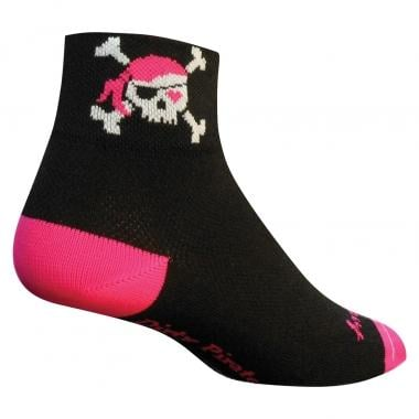 Calzini SOCK GUY LADY PIRATE Donna Nero