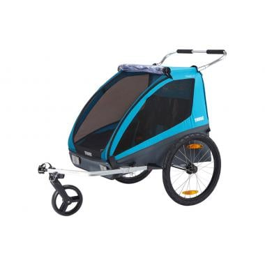 THULE CHARIOT COASTER XT Trailer for Kids Blue