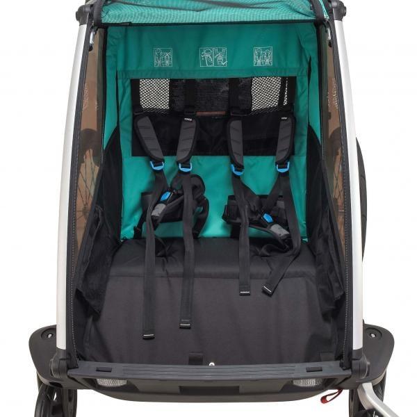 Chariot 2 Thule Kinderanhänger Probikeshop Blau Lite trhQdsxC