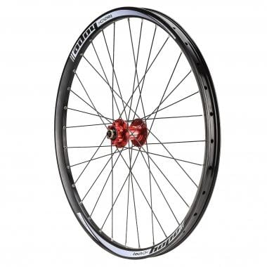 "Roue Avant HOPE TECH DH PRO4 26"" Axe 9/20 mm Rouge"
