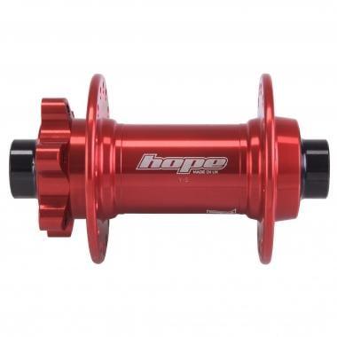 Moyeu Avant HOPE PRO4 Axe 15x110 mm Boost Rouge