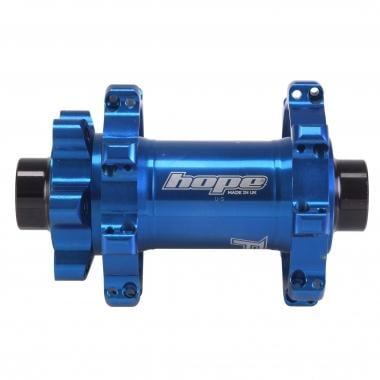 Buje delantero HOPE PRO4 STRAIGHT PULL 32 agujeros Azul