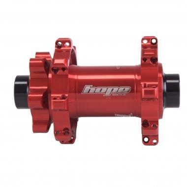 Buje delantero HOPE PRO4 STRAIGHT PULL 32 agujeros Rojo