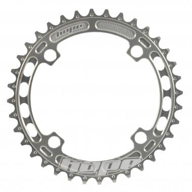 Plateau Mono HOPE SINGLESPEED/DH 9/10V 4 Trous 104 mm Argent