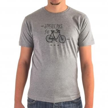 Camiseta PROBIKESHOP J'PEUX PAS Gris