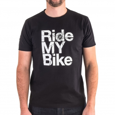 T-Shirt PROBIKESHOP RIDE MY BIKE Preto