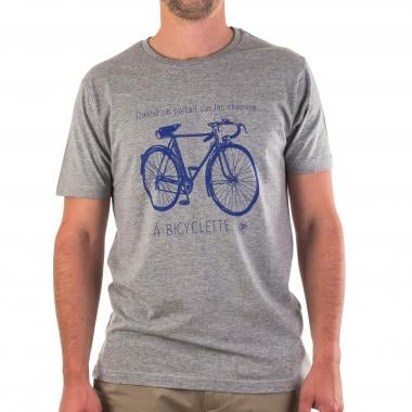 Camiseta PROBIKESHOP A BICYCLETTE Gris