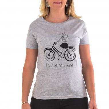 T-Shirt PROBIKESHOP PETITE REINE Femme Gris
