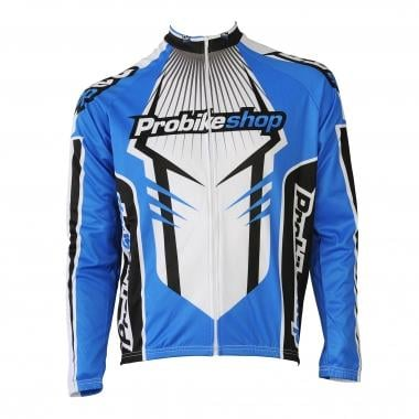 Maillot KENNY PROBIKESHOP STAFF WARM Manches Longues Bleu/Blanc