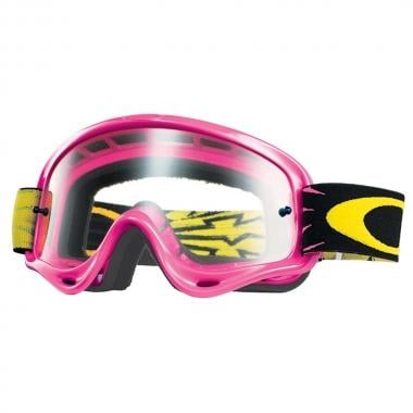 Masque OAKLEY XS O FRAME MX Rose Écran Clear