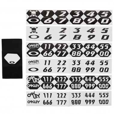 Plaque de Numéro pour Masque OAKLEY