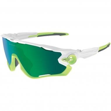Óculos OAKLEY JAWBREAKER Branco brilhante/Verde Iridium OO9290-03