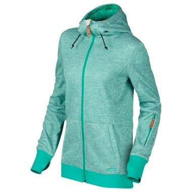 Sweat à Capuche OAKLEY OVEREASY DWR Femme Zip Vert