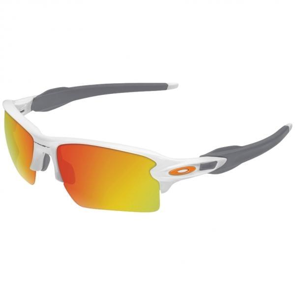 e825c8c25 Óculos OAKLEY FLAK 2.0 XL Branco/Cinzento Iridium OO9188-19 ...