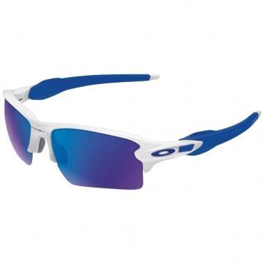 Lunettes OAKLEY FLAK 2.0 XL Blanc/Bleu Iridium OO9188-20