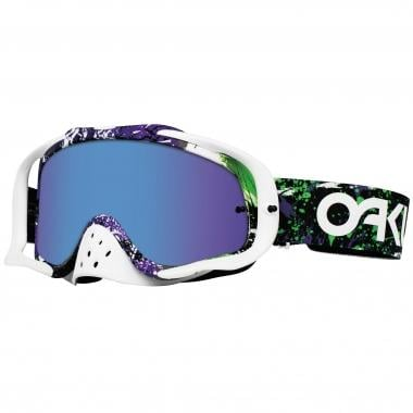 OAKLEY CROWBAR MX Goggles Purple/White Purple Iridium & Clear Lenses 2016