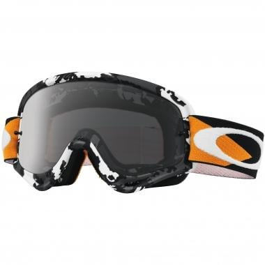 Masque OAKLEY O FRAME MX FLIGHT SERIES Camo Noir/Blanc Écran Dark Grey