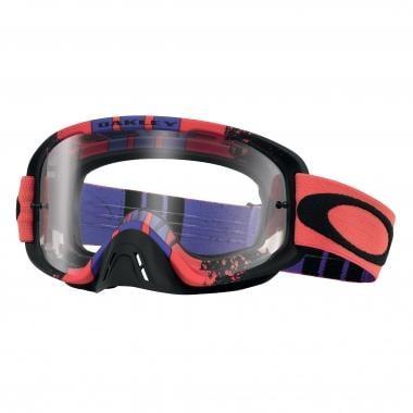 Máscara OAKLEY O2 MX Vermelho/Roxo/Preto Ecrã Clear