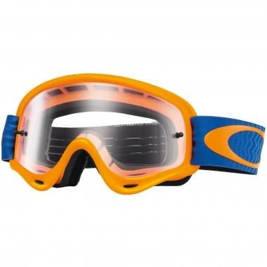 Masque OAKLEY XS O FRAME MX Enfant Orange/Bleu Écran Clear