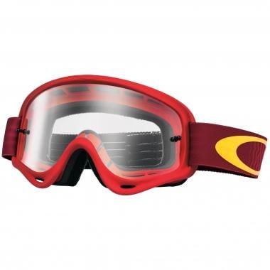 Gafas máscara OAKLEY XS O FRAME MX Niño Rojo Lente transparente