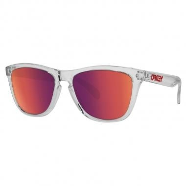 Lunettes OAKLEY FROGSKINS CRYSTAL Rouge Iridium OO9013-A5