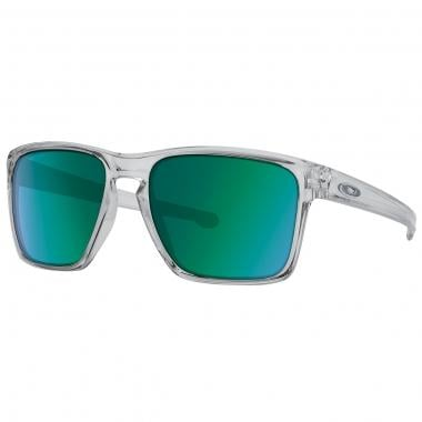 OAKLEY SLIVER XL Sunglasses Transparent/Green Iridium OO9341-02 2016